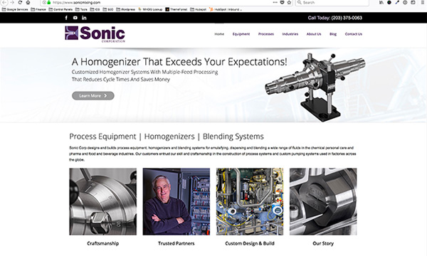 Sonic Corporation Website